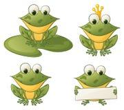 Froggies stock de ilustración