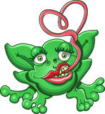 Froggy Love. This is a frog with a love problem Royalty Free Stock Photo
