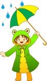 Froggy-Mädchen Stockbilder