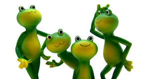 Froggy's Family Stock Image
