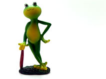 Froggy waiting Stock Images