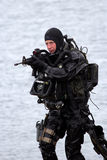 Special Forces frogman Royalty Free Stock Photos