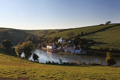 Frogmore Creek Devon Royalty Free Stock Images