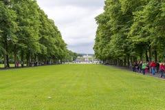 Frogner-Park lizenzfreie stockfotografie