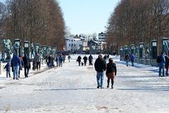Frogner-Park Frognerparken lizenzfreie stockfotografie