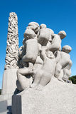 Frogner park kids Royalty Free Stock Image