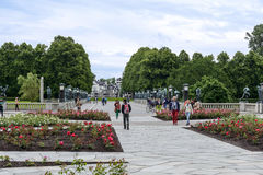 Frogner Park Royalty Free Stock Image