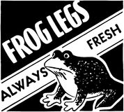 Frogs Legs Stock Images