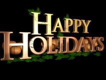 Frohe Feiertage Lizenzfreies Stockfoto