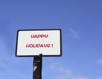 Frohe Feiertage Lizenzfreie Stockbilder