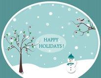 Frohe Feiertage! Stockfotografie