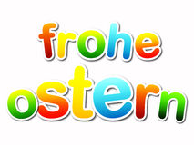 Frohe ostern Royalty Free Stock Images