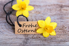 Frohe Ostern Image stock