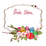 Frohe Ostern Royalty Free Stock Photo