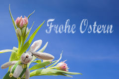 Frohe Ostern Stock Photos