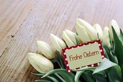 Frohe Ostern karta Obraz Royalty Free