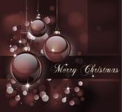 Frohe Weihnacht-andeutender Hintergrund Lizenzfreie Stockbilder