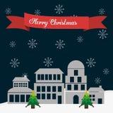 Frohe Weihnacht-Design Lizenzfreie Stockbilder