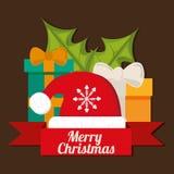 Frohe Weihnacht-Design Stockfotos