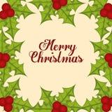 Frohe Weihnacht-Design Stockbilder