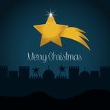 Frohe Weihnacht-Design Lizenzfreie Stockfotografie