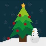 Frohe Weihnacht-Design Stockfotografie