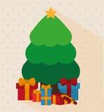 Frohe Weihnacht-Design Lizenzfreies Stockfoto