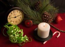 Frohe Weihnacht-Feiertags-Stillleben Stockbild