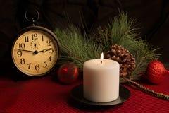 Frohe Weihnacht-Feiertags-Stillleben Lizenzfreies Stockbild