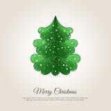 Frohe Weihnacht-Feiertags-Webseiten-Schablone vektor abbildung