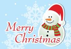 Frohe Weihnacht-Gruß-Karte Lizenzfreie Stockfotografie