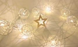 Frohe Weihnacht-guten Rutsch ins Neue Jahr-Dekoration Stockfoto