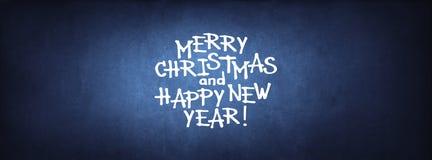 Frohe Weihnacht-guten Rutsch ins Neue Jahr-Glückwunsch Lizenzfreie Stockbilder