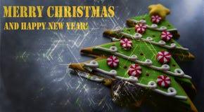 Frohe Weihnacht-Hintergrund Lizenzfreie Stockbilder