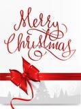 Frohe Weihnacht-Hintergrund Lizenzfreie Stockfotos