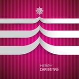 Frohe Weihnacht-Hintergrund Stockfotografie