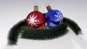 Frohe Weihnacht-Hintergrund Lizenzfreie Stockfotografie