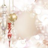 Frohe Weihnacht-Hintergrund Lizenzfreies Stockfoto
