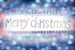 Frohe Weihnacht-Hintergrund Lizenzfreies Stockbild