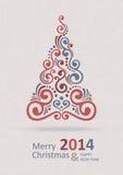 Frohe Weihnacht-Karte Stockbilder