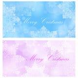Frohe Weihnacht-Karte Stockfoto