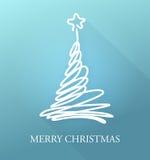 Frohe Weihnacht-Karte Lizenzfreie Stockfotografie