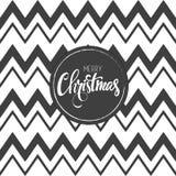 Frohe Weihnacht-Karte Auch im corel abgehobenen Betrag Stockfoto