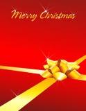 Frohe Weihnacht-Karten-Hintergrund Lizenzfreies Stockfoto
