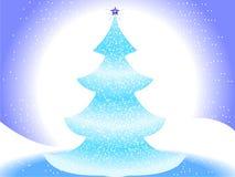 Frohe Weihnacht-Landschaft Stockbilder