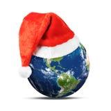 Frohe Weihnacht-Welt Stockfoto