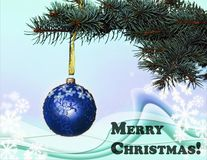 Frohe Weihnachten! Stockfoto