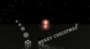 Frohe Weihnachten stock abbildung