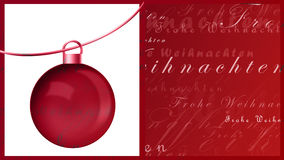 Frohe Weihnachten Royalty Free Stock Photos