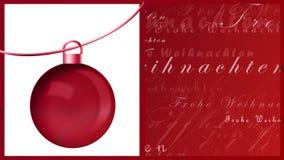 Frohe Weihnachten Fotos de Stock Royalty Free